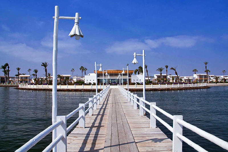 muelle del Hotel Paracas a Luxury Collection Resort